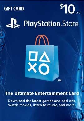 Playstation Network $10.00 Card (US) tijdelijk voor €6,61 @ PCgamesupply