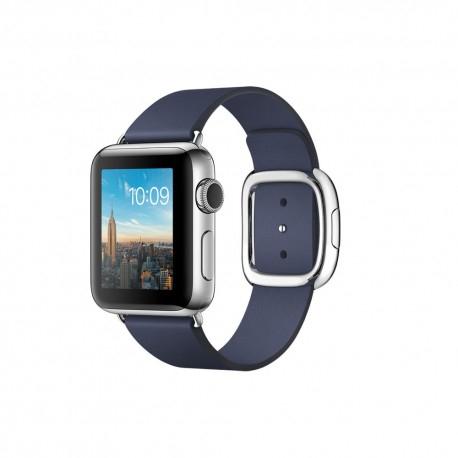 Apple watch 38mm rvs moderne gesp blauw bruin lichtblauw voor €199 @ DirectSale