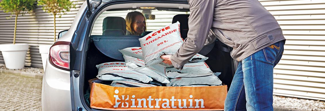 Voordelige potgrond/tuinaarde (drive-in) op zaterdag 18 en 25 maart @ Intratuin