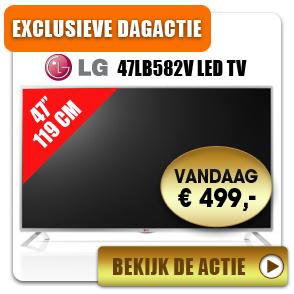LG 47LB582V FULL HD Smart TV voor €499,- @ Bobshop