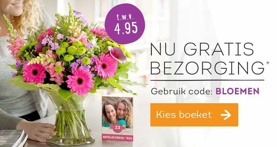 Gratis verzending bij @Greetz.nl