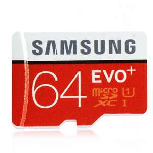 Samsung EVO Plus 64GB microSDXC Card @Yoshop