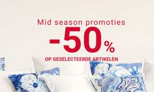 Mid Season SALE 50% korting @ ZARA HOME
