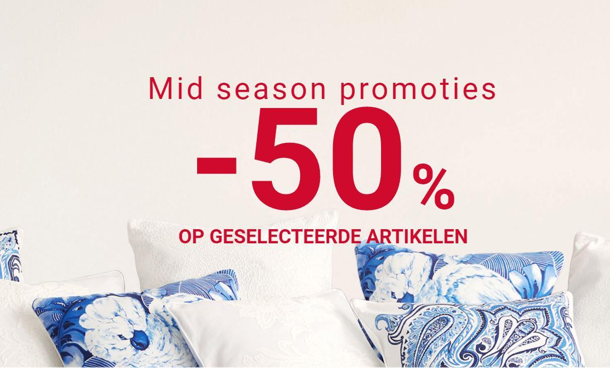 Mid Season SALE 50% korting @ ZARA HOME