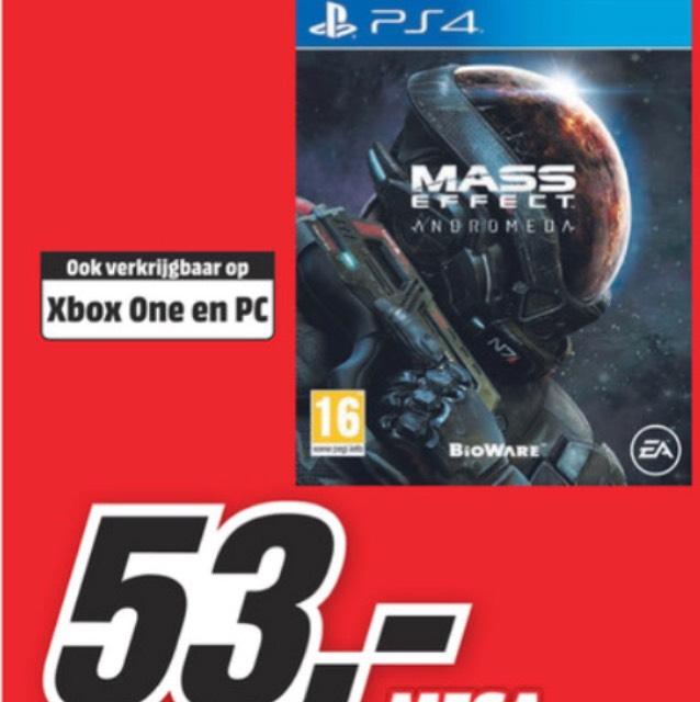 Mass Effect Andromeda vanaf maandag 20 maart voor €53,- @ MediaMarkt