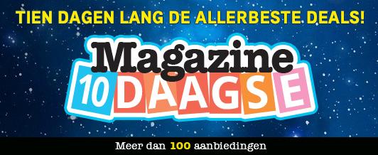 10 dagen lang de beste deals op kranten & tijdschriften