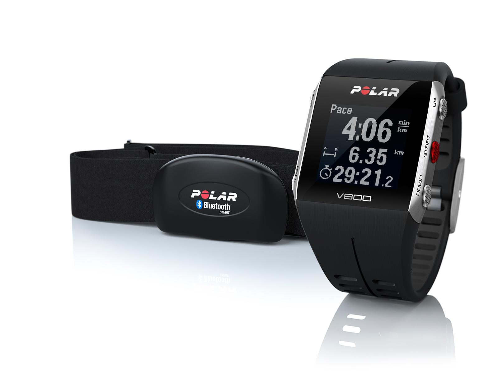 Polar V800 sporthorloge (met HR) voor €199,90 @ Runnerspoint