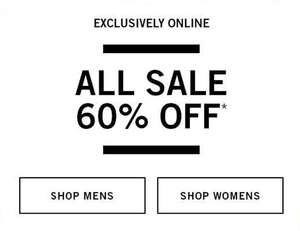 Alle sale 60% korting + 10% extra korting @ Abercrombie & Fitch