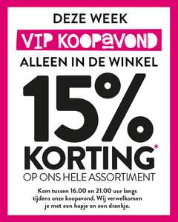 Vip koopavond met 15% korting op bijna alles @ Xenos winkels (23 of 24 maart)