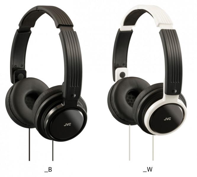 JVC HA-S200 koptelefoon (wit of zwart) voor €16,98 @ Pixmania