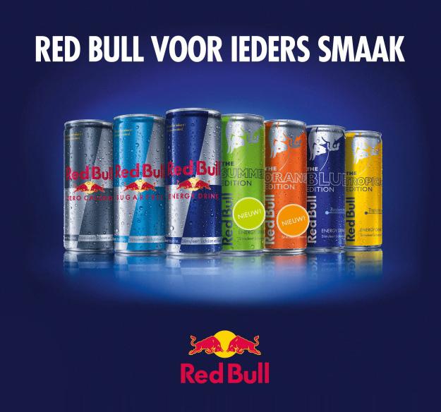 Gratis Red Bull @ Vliegenddebeursover.nl
