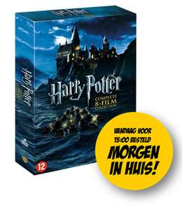 Harry Potter - Complete 8-Film Collection  € 9.95 Dagknaller