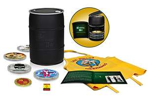 Breaking Bad The Complete Series (Limited Barrel Edition) (Blu-ray) tijdelijk voor €105,64 @ Amazon.fr
