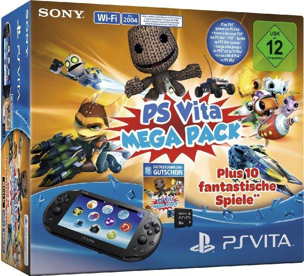 PlayStation Vita 2000 Slim Console WiFi + 8 GB Memory Card + Mega Pack Voucher voor €101,65 @ Amazon