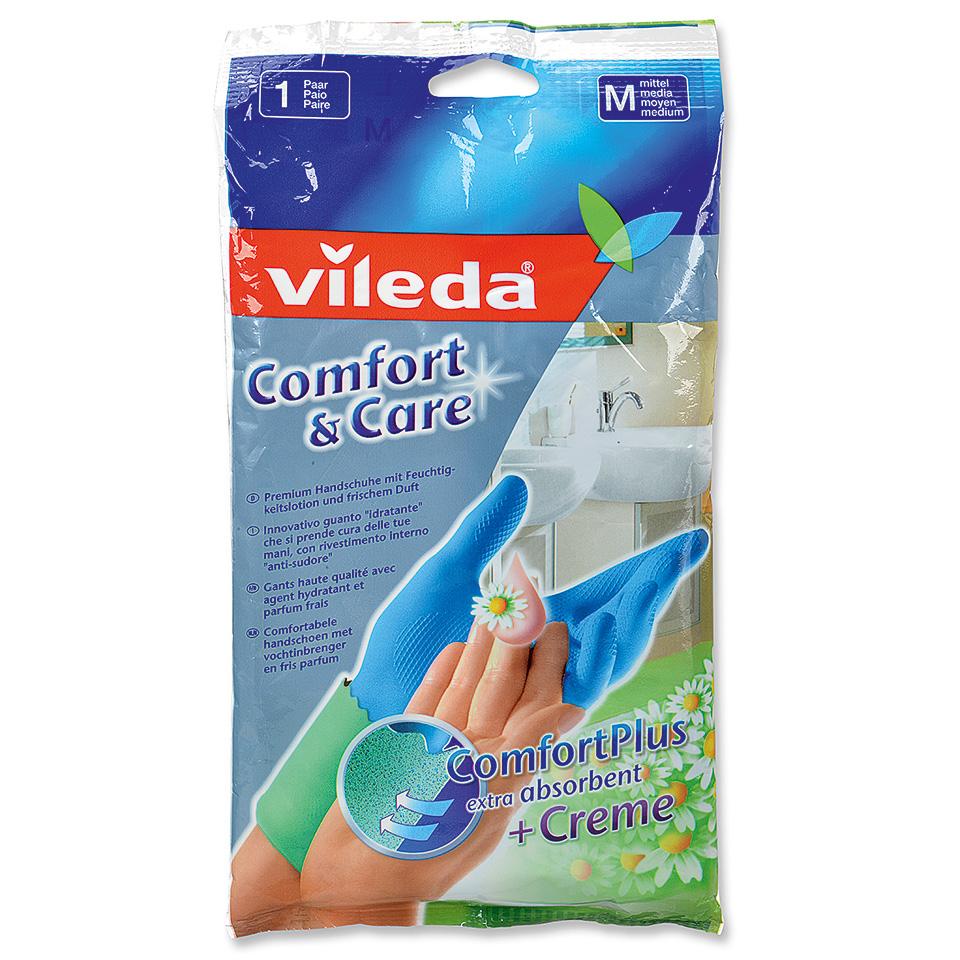 2 euro retour Vileda Comfort & Care Handschoenen @blokker.nl