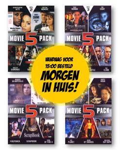 Movie DVD-Pakket - 20 stuks (Alleen 2,50 verzendkosten) Dagknaller