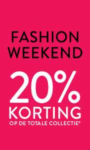 20% korting op de totale collectie @ Men at Work
