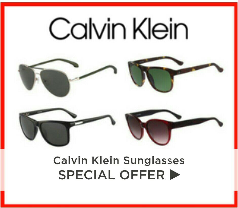 Calvin Klein zonnebrillen na kortingscode €34,17 @ Fashioneyewear (UK)