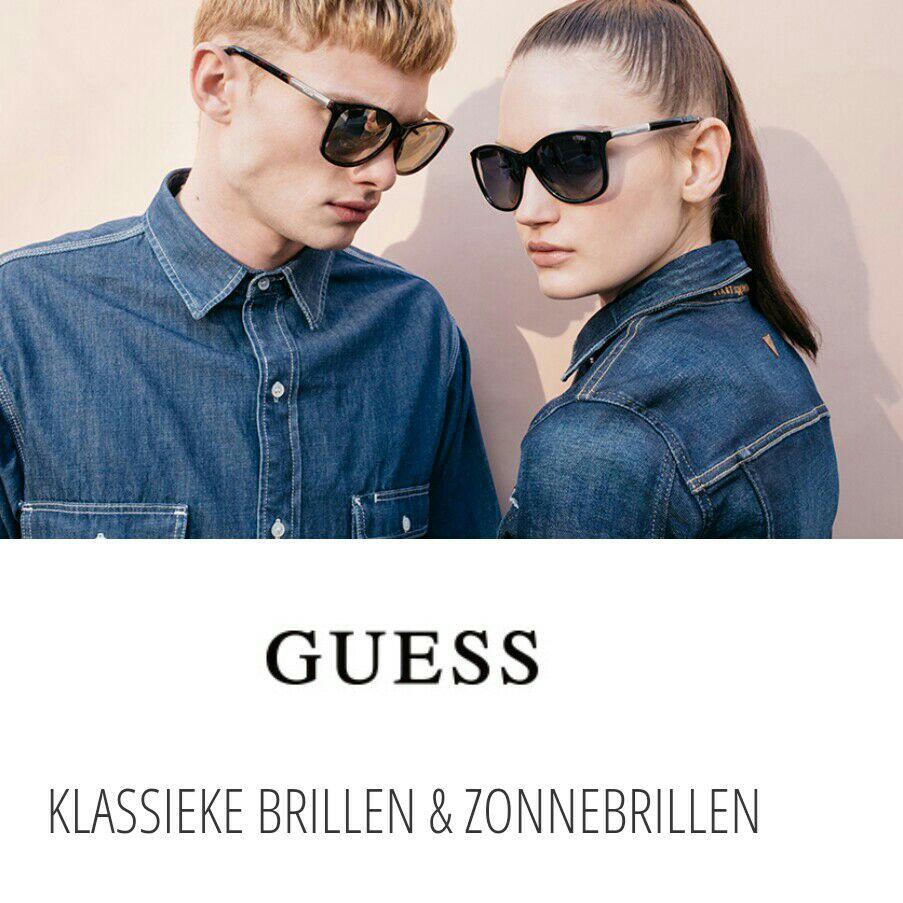 Guess zonnebrillen met hoge kortingen (tot -75%) vanaf €33,- @ Zalando-Lounge