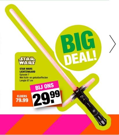 Star Wars Ultimate FX Lightsaber € 29,99 @ Big Bazar