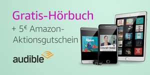 Gratis 1 maand Audible + €5 tegoed @ Amazon.de