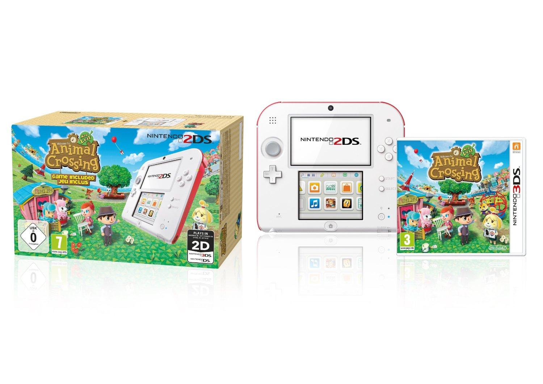Nintendo 2DS +  Animal Crossing (Limited Edition) voor €101,65 @ Amazon.de