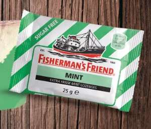 gratis FISHERMAN'S FRIEND MINT 50 gram @ kruidvat