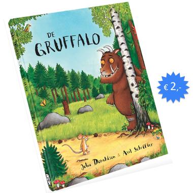 Prentenboek de gruffalo voor €2,- @boekhandels