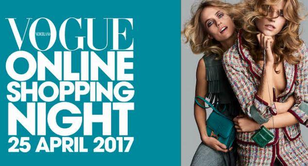 [REMINDER] Vandaag 12 - 24u: Vogue Shopping Night: 15-40% korting bij 39 shops
