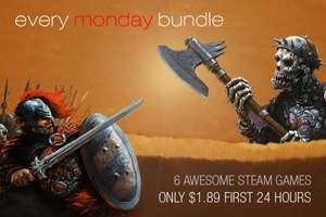 Every Monday Bundle - 6 games (Steam) voor $1,89 @ IndieGala