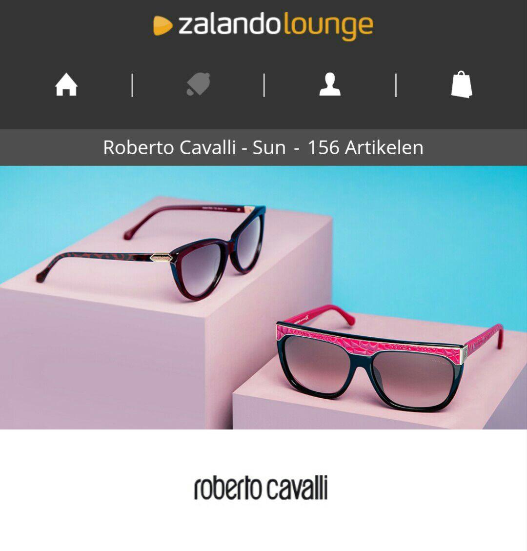 Roberto Cavalli dames zonnebrillen met hoge kortingen (tot -75%) vanaf €59,- @ Zalando-Lounge
