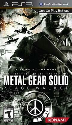 Metal Gear Solid: Peace Walker voor de PSP - YGZ