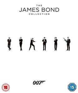 James Bond Collection Blu-ray (23 films) @ Zavvi.nl