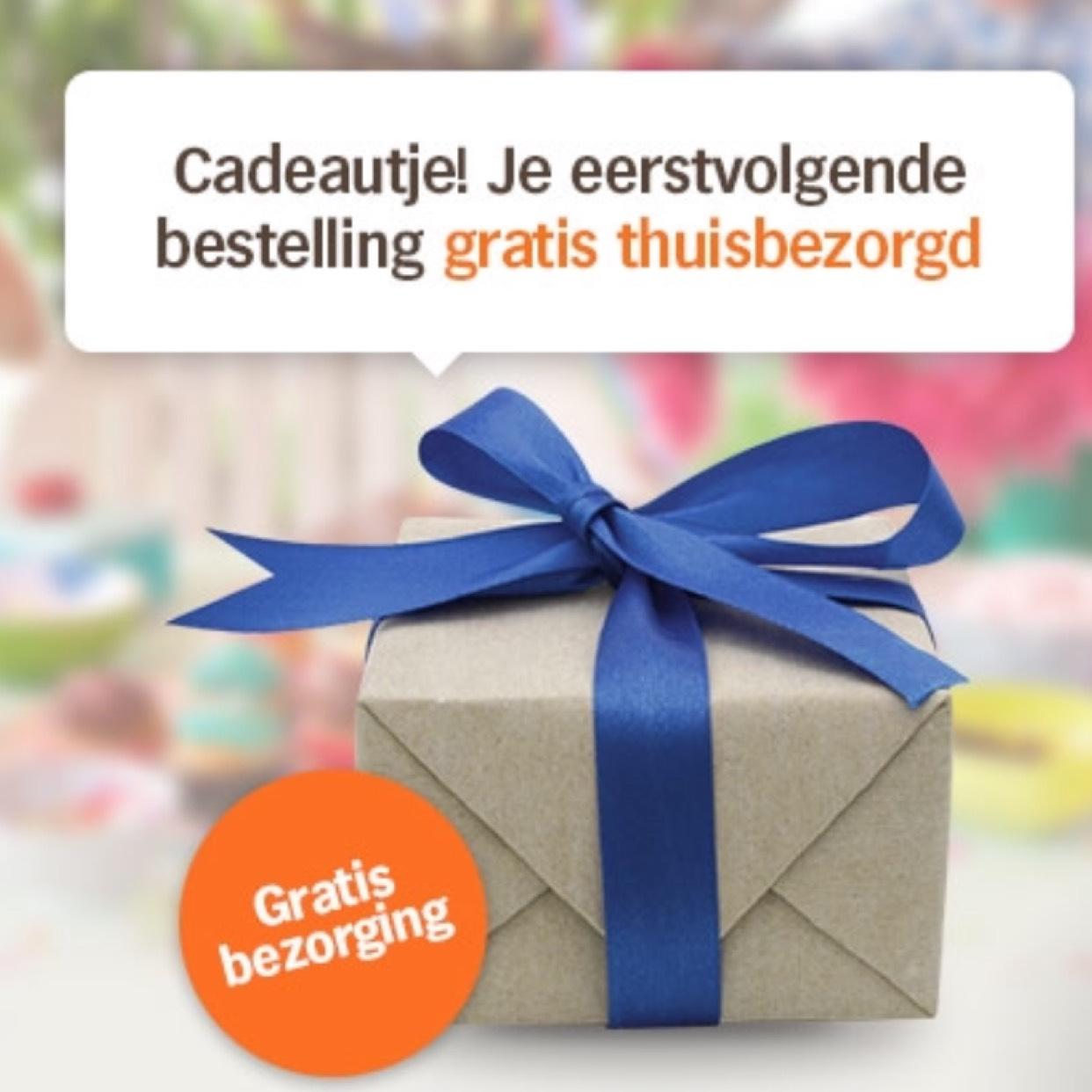 Gratis bezorging (verjaardagscode) @ Albert Heijn