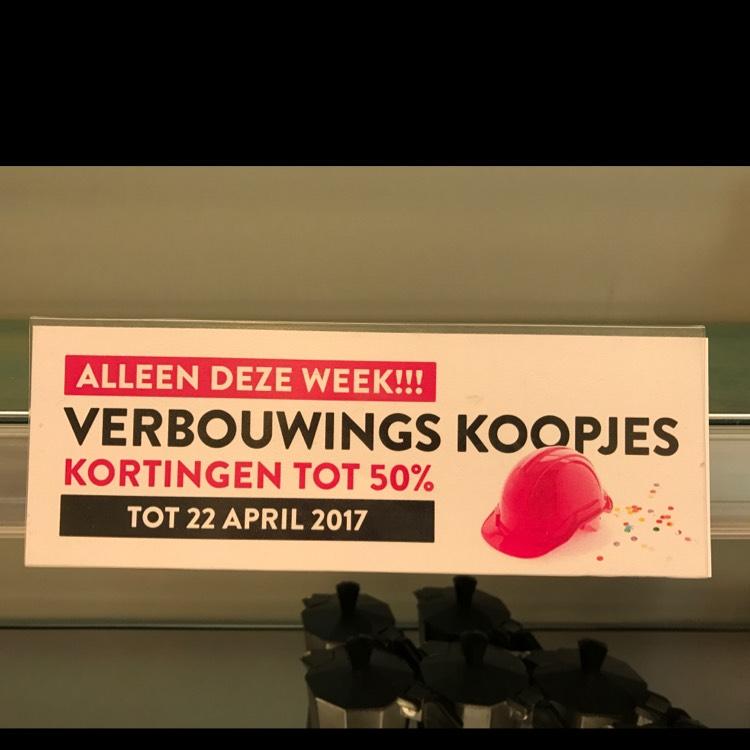 50% korting op gehele assortiment @ Xenos Capelle a/d IJssel
