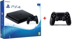 PS4 Slim 1TB + Extra Controller + Uncharted the Nathan Drake Collection voor €288 @ Nedgame