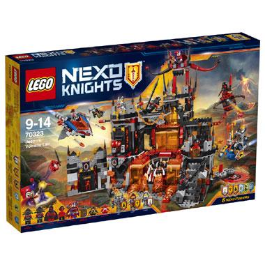 LEGO Nexo Knights Jestro's vulkaanbasis 70323 voor €79,98 @ Bart Smit