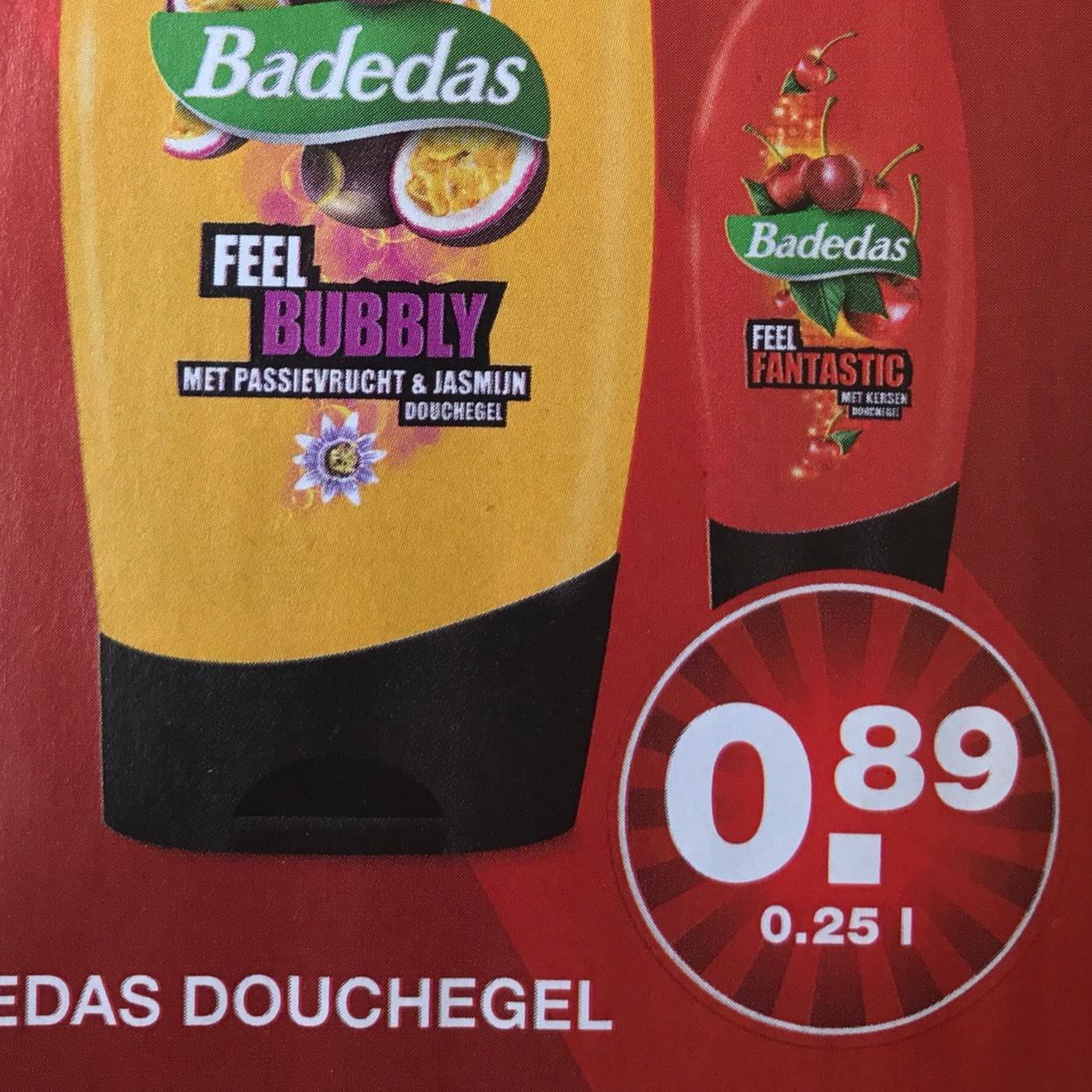 [REMINDER] Badedas douchegel voor €0,89 @ Aldi