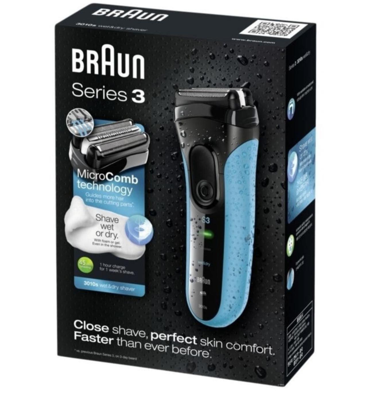 Braun 3 series wet & dry scheerapparaat voor €39,99 @ kruidvat