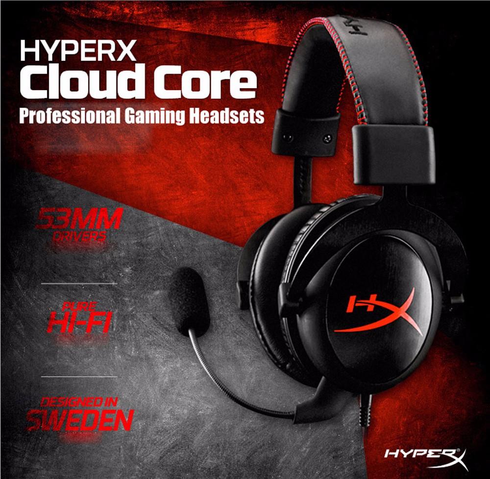 Kingston Cloud Core Headset voor €44,72 @ Gearbest