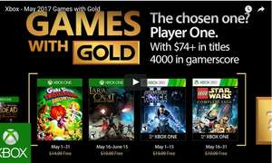 [XBOX] Games With Gold van Mei @ Xbox Store