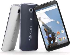 Nexus 6 (32GB) + Chromecast en 1 maand data voor € 551,- @ Coolblue