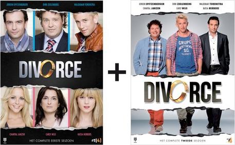 Divorce pakket seizoen 1 en 2 Dagknaller € 2,95 ( 5,90 inclusief verzendkosten)
