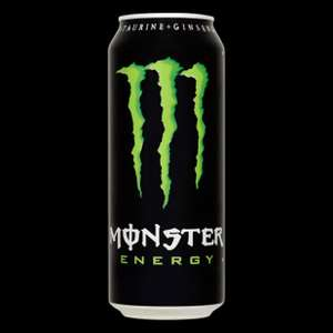 Monster Energy drink 3 X 500ml voor €2,50 (€ 0,83 per blikje) @Bigbazar