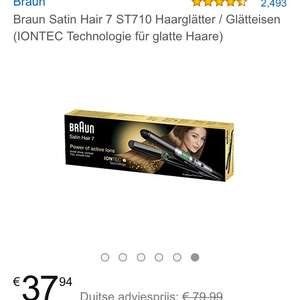 Braun Satin Hair 7 Stijltang @ Amazon.de