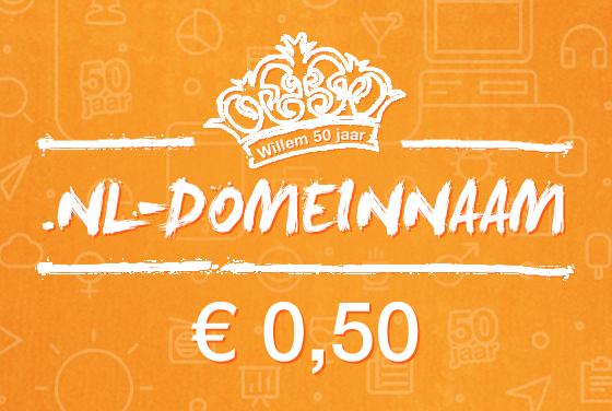 .nl domeinnaam voor €0,50 @ TransIP