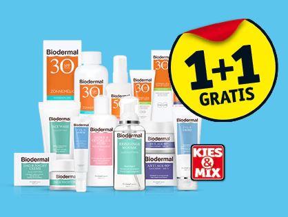 Biodermal 1+1 gratis @ Kruidvat