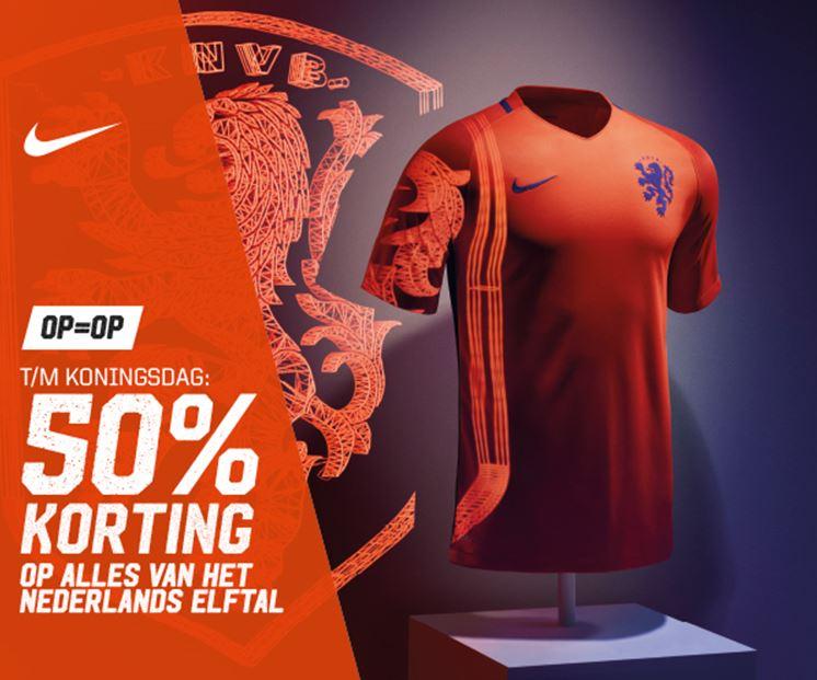 Alles van 't Nederlands Elftal 50% korting @ Aktiesport