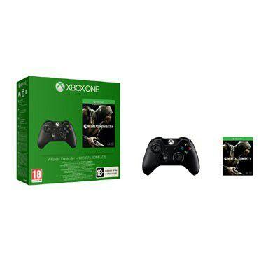 Xbox One controller + Mortal Kombat X @ Bart Smit