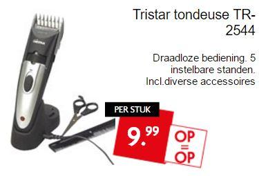 Tristar tondeuse TR-2544 voor €9,99 @ Dekamarkt